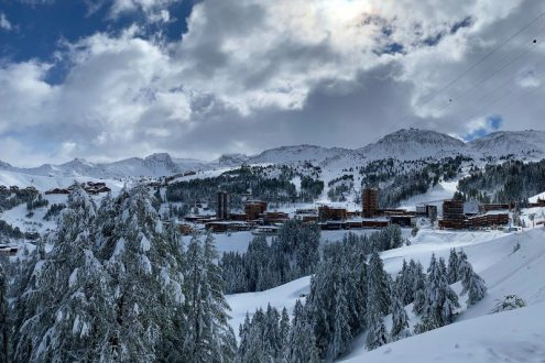La Plagne, France – Weather to ski – Today in the Alps, 26 September 2020