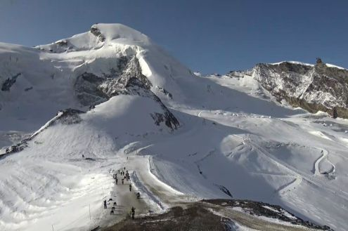Saas-Fee, Switzerland – Weather to ski – Today in the Alps, 30 September 2020