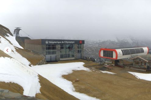 Val d'Isère, France – Weather to ski – Today in the Alps, 2 October 2020