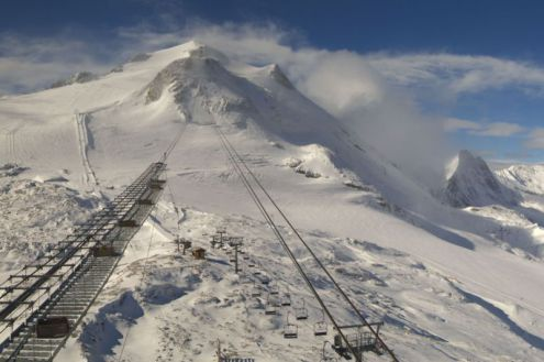 Grande Motte glacier, Tignes, France – Weather to ski – Today in the Alps, 4 October 2020