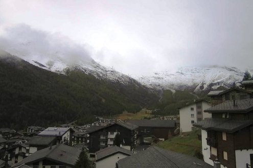 Saas-Fee, Switzerland – Weather to ski – Today in the Alps, 7 October 2020