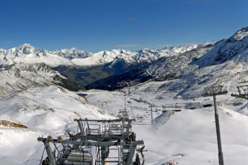 Les Arcs, France – Weather to ski – Today in the Alps, 8 October 2020