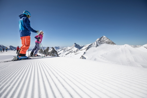 Hintertux ski area, Austria - Weather to ski - Top 5 early season ski resorts in Austria
