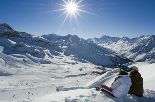 Ischgl ski area, Austria - Weather to ski - Top 5 early season ski resorts in Austria