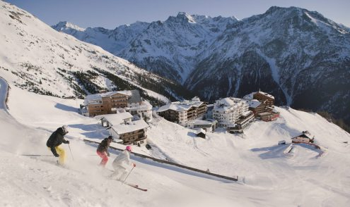 Sölden Ötztal ski area, Austria - Weather to ski - Top 5 early season ski resorts in Austria