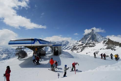 Cervinia ski area, Italy - Weather to ski - Top 5 early season ski resorts in Italy