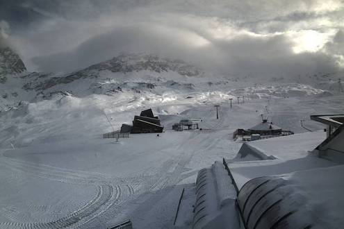 Cervinia, Italy – Weather to ski – Today in the Alps, 16 October 2020