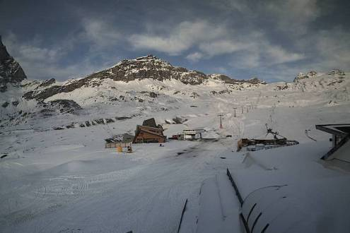 Cervinia, Italy – Weather to ski – Today in the Alps, 21 October 2020