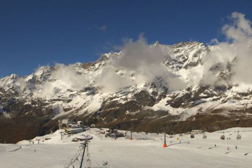 Cervinia, Italy – Weather to ski – Today in the Alps, 24 October 2020