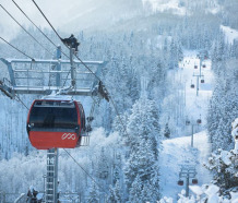 Who got the most snow in North America in 2013-14?