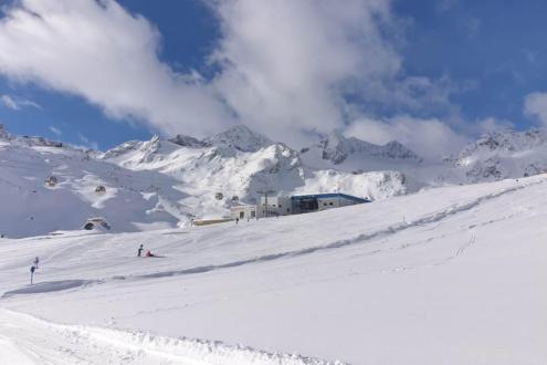Stubai glacier, Austria – Weather to ski – Today in the Alps, 2 November 2020