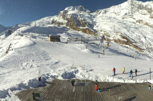Saas-Fee, Switzerland – Weather to ski – Today in the Alps, 14 November 2020