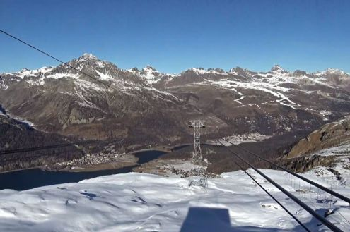 Corvatsch, St Moritz, Switzerland – Weather to ski – Today in the Alps, 18 November 2020