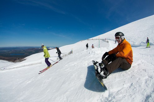 Cairngorm, Scotland - Weather to ski - The complete guide to weather & snow conditions in Scotland