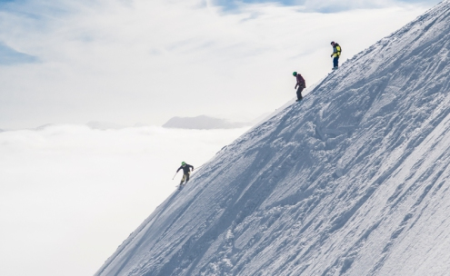 Flypaper run at Glencoe Mountain Resort - Weather to ski - Our complete guide to weather & snow conditions in Scotland