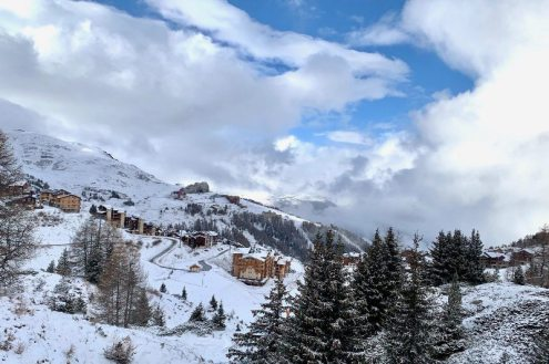 La Plagne, France – Weather to ski – Today in the Alps, 2 December 2020