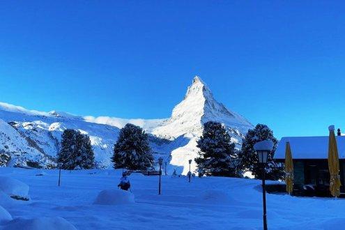 Matterhorn viewed from Riffelalp, Zermatt, Switzerland – Weather to ski – Today in the Alps, 10 December 2020