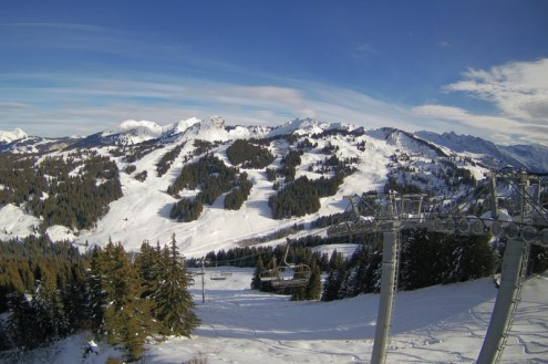 Les Gets, France – Weather to ski – Today in the Alps, 14 December 2020