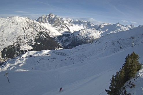 Méribel, France – Weather to ski – Today in the Alps, 22 December 2020