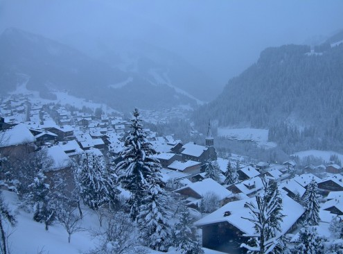 Châtel, France – Weather to ski – Today in the Alps, 31 December 2020