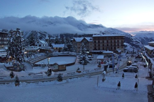 Auron, France – Weather to ski – Today in the Alps, 3 January 2021