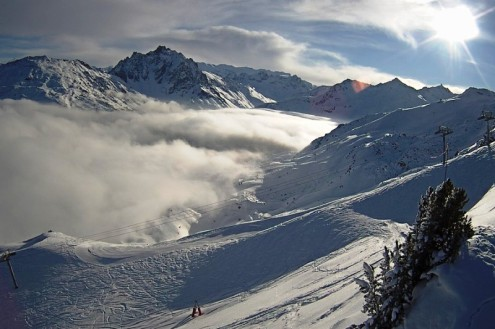Méribel, France – Weather to ski – Today in the Alps, 6 January 2021
