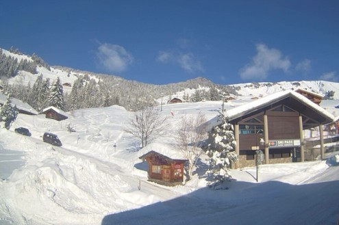 Hauteluce, France – Weather to ski – Today in the Alps, 18 January 2021