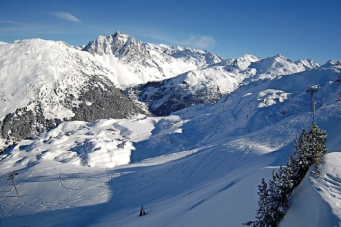 Méribel, France – Weather to ski – Today in the Alps, 26 January 2021