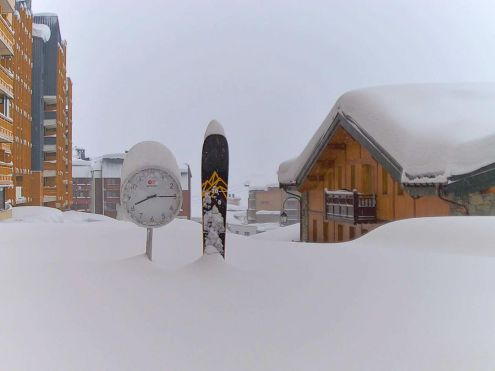 Val Thorens, France – Weather to ski – Today in the Alps, 29 January 2021