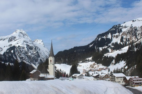 Schröcken, Austria – Weather to ski – Today in the Alps, 4 February 2021