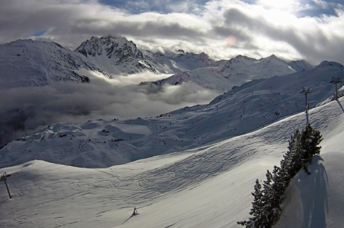 Méribel, France – Weather to ski – Today in the Alps, 9 February 2021