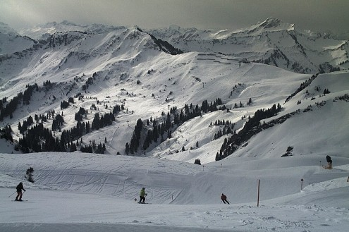 Mellau, Austria – Weather to ski – Today in the Alps, 9 March 2021