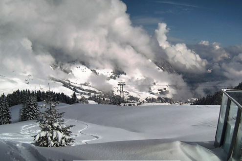 Engelberg, Switzerland – Weather to ski – Today in the Alps, 18 March 2021