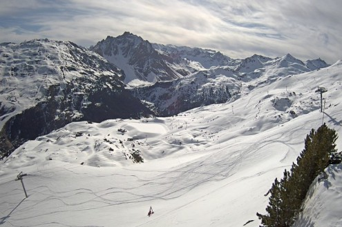 Méribel, France – Weather to ski – Today in the Alps, 9 April 2021