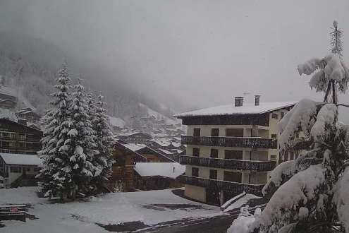 Les Gets, France – Weather to ski – Today in the Alps, 12 April 2021