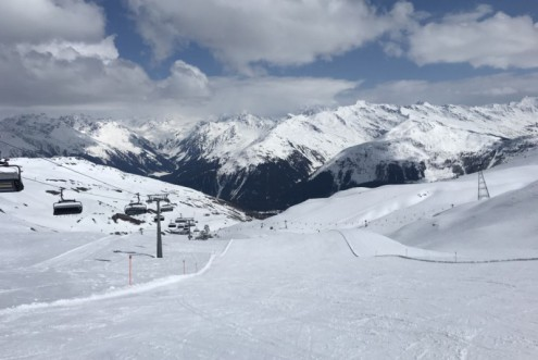 Davos, Switzerland – Weather to ski – Today in the Alps, 21 April 2021