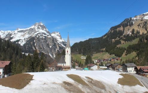 Schröcken, Austria – Weather to ski – Today in the Alps, 30 April 2021