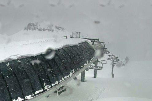 Les 2 Alpes, France – Weather to ski – Today in the Alps, 11 May 2021