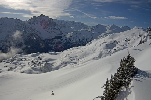 Méribel, France – Weather to ski – Today in the Alps, 18 May 2021