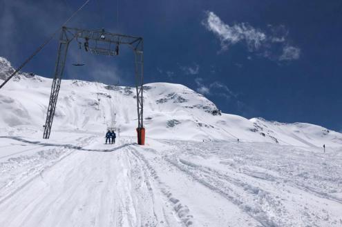 Kaunertal glacier, Austria – Weather to ski – Today in the Alps, 27 May 2021