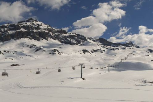 Cervinia, Italy – Weather to ski – Today in the Alps, 27 May 2021