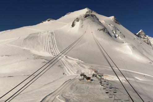 Grande Motte glacier, Tignes, France – Weather to ski – Today in the Alps, 27 May 2021