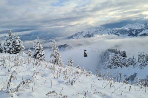 Kleinwalstertal, Austria – Weather to ski – Today in the Alps, 13 October 2021