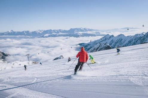 Kitzsteinhorn glacier, Austria – Weather to ski – Today in the Alps, 14 October 2021